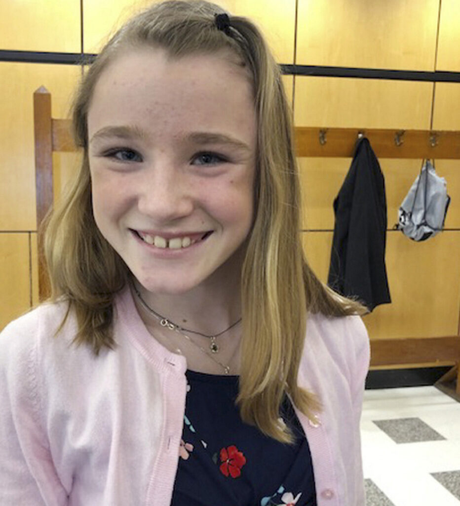 "Hannah Mitschele, 11, who has epilepsy, favors a bill to regulate ""step therapy"" used for prescription drugs."