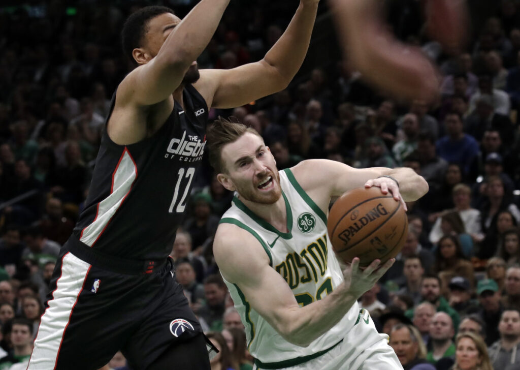 A confident Gordon Hayward may be just what the Boston Celtics need to make a deep playoff run. When he scores at least 12 points in a game, the Celtics are 20-4.