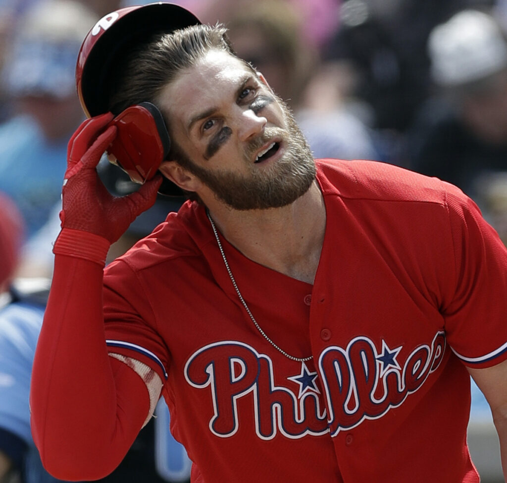 Bryce Harper sat out Saturday's exhibition game against the Astros but plans to return to the Phillies' lineup soon.