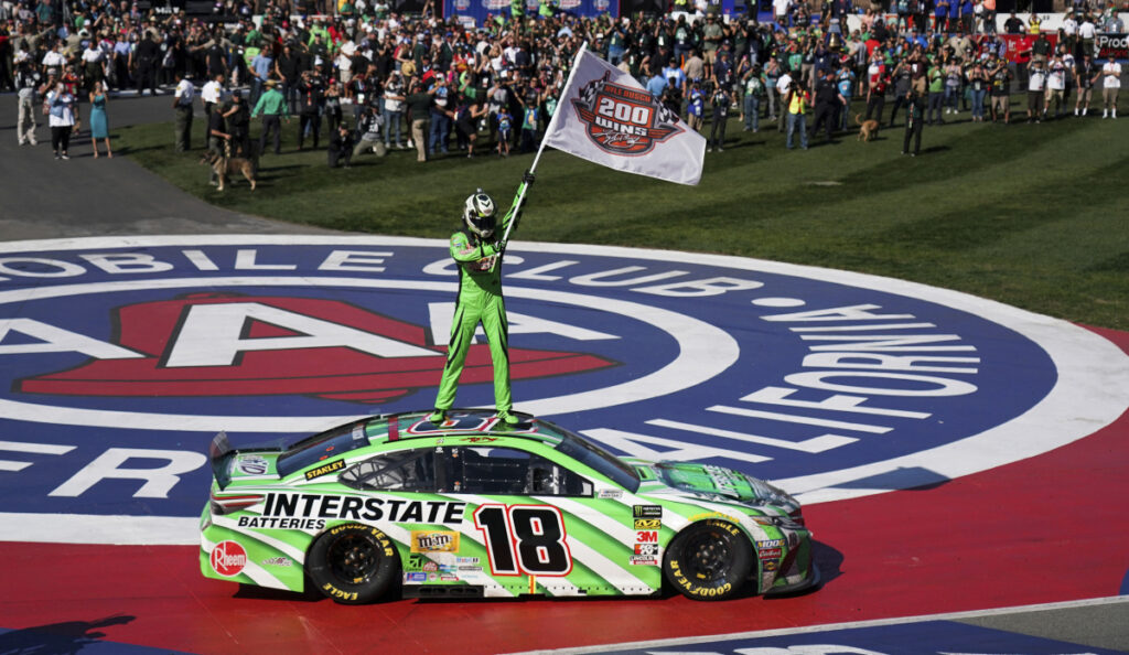Busch on reaching 200 career victories: All I do is win
