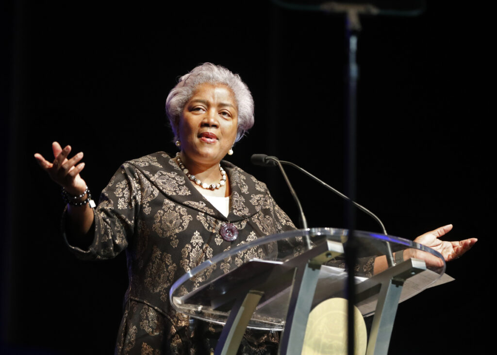 """There's an audience on Fox News that doesn't hear enough from Democrats,"" Donna Brazile said of her new job with the cable network."