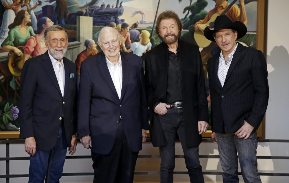 From left, Ray Stevens, Jerry Bradley, Ronnie Dunn, and Kix Brooks.