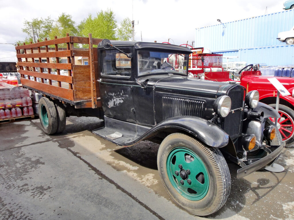 "A Model AA Ford truck like this one figures strongly in a ""Gus and Joe"" story."