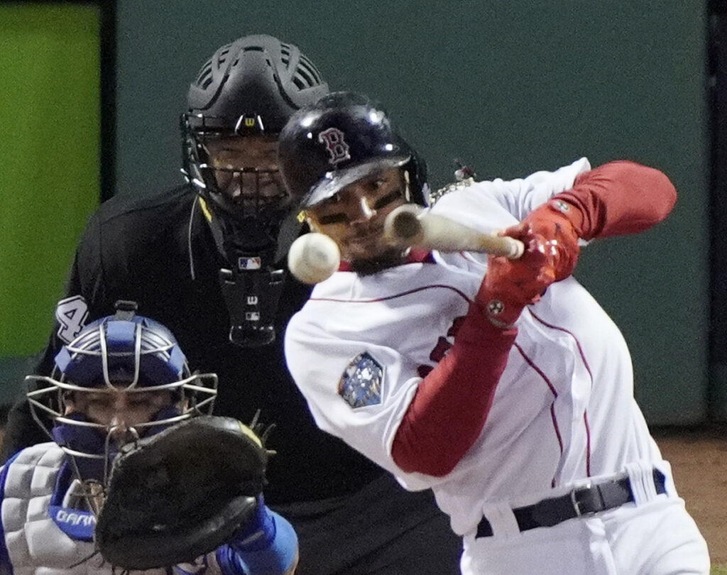 According to a report, Mookie Betts turned down an eight-year, $200 million contract extension after the 2017 season from Boston, and is willing to wait until his contract expires after the 2020 season to make a decision.