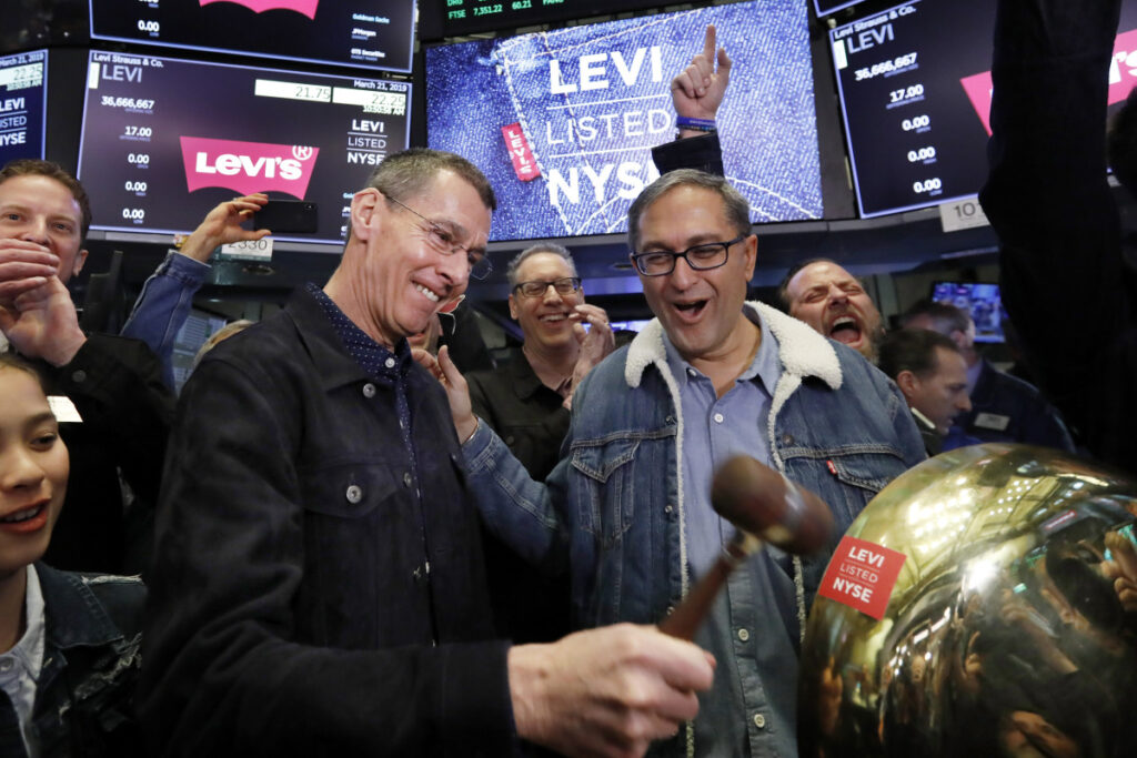 Levi Strauss readies for prime time in the public markets