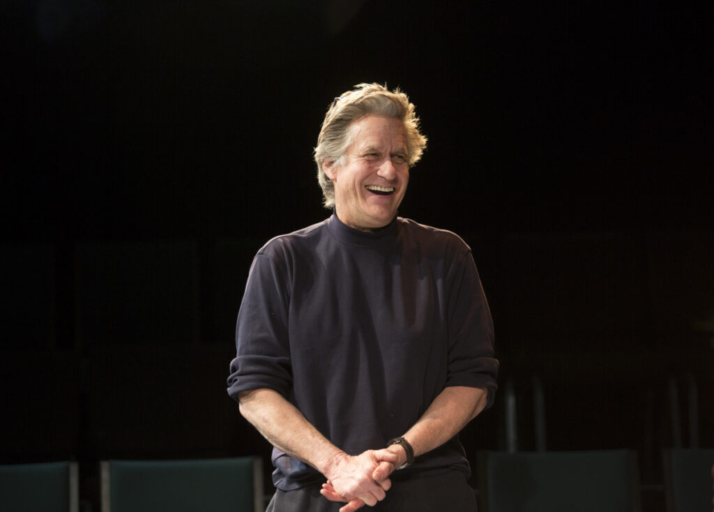 "Whip Hubley, a movie actor best known for his role in ""Top Gun,"" appears in the play ""We Can Eat Love,"" which will be showing at Portland Stage Studio Theater from March 22-31."