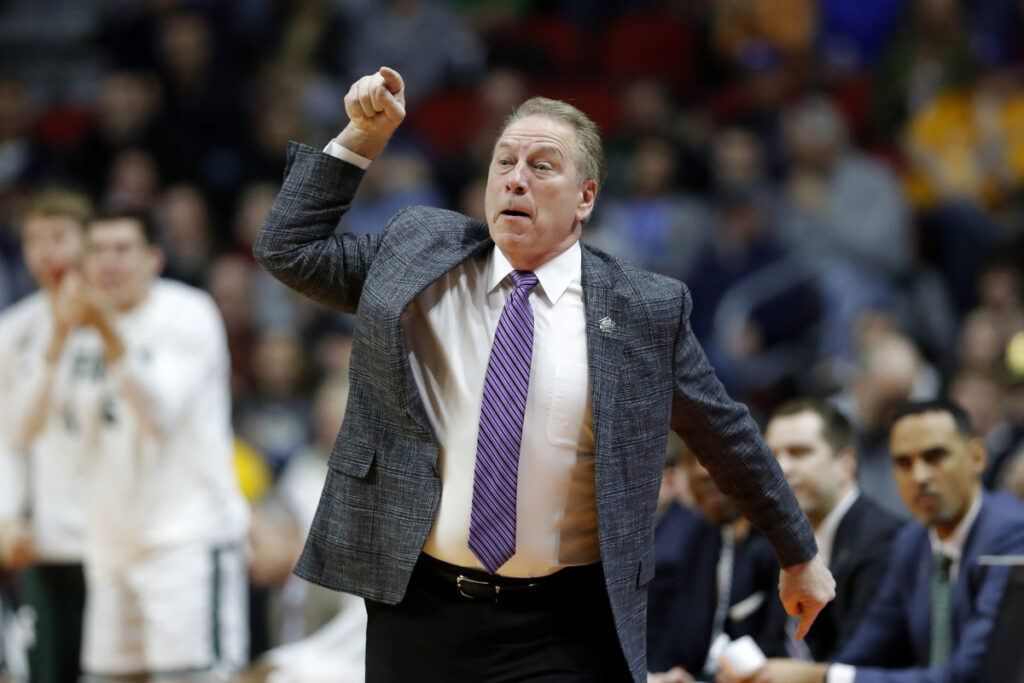 Michigan State Coach Tom Izzo came under fire his interaction with freshman Aaron Henry during the Spartans first-round game on Thursday.
