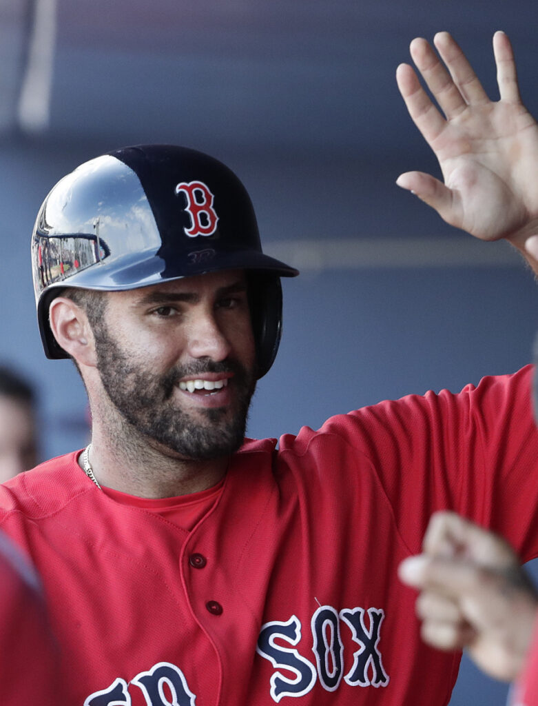 Red Sox DH J.D. Martinez can opt out of his contract after the 2019, 2020 and 2021 seasons.