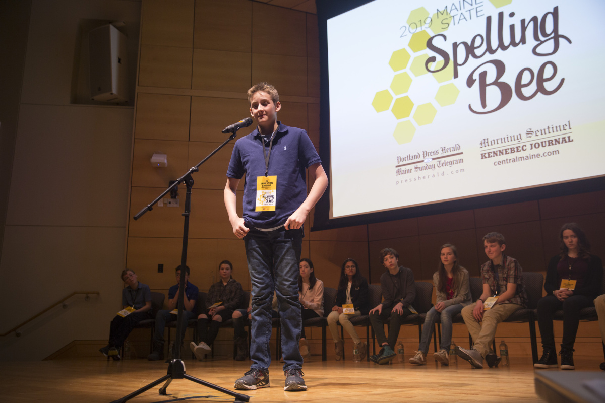 Saco 7th-grader wins Maine State Spelling Bee