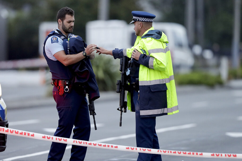 New Zealand Shooting Livestreamed On Social Media By: White Supremacist Accused In New Zealand Massacre Appears