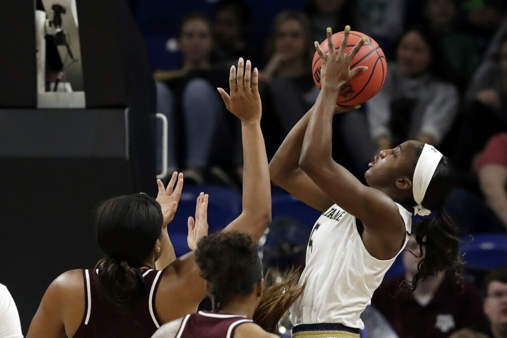 Notre Dame Women Advance To Basketball Sweet 16: Women's Basketball: Notre Dame Back In Elite 8