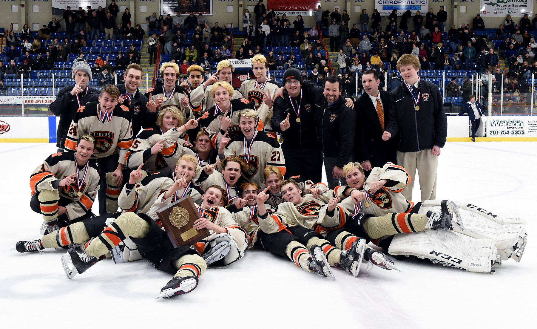 Tigers Punch Ticket To State Final Journal Tribune