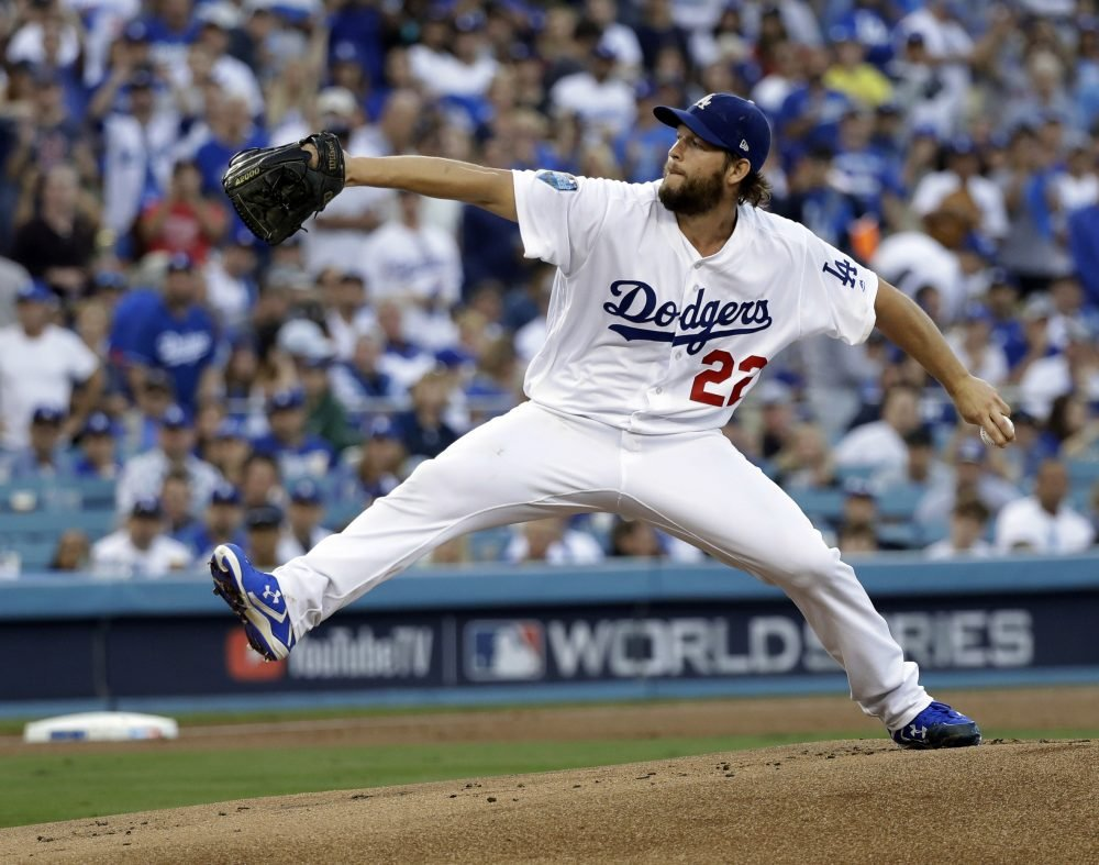 Associated Press/David J. Phillip The Dodgers officially placed Clayton Kershaw on the injured list, ending a streak of eight Opening Day starts.