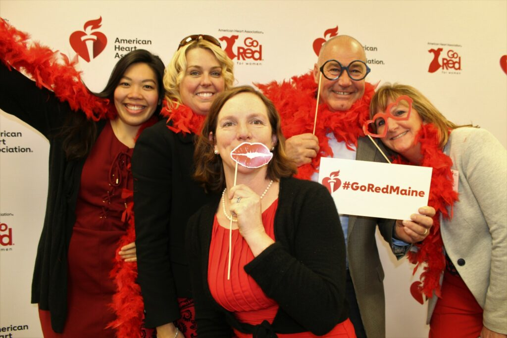 Society Notebook Women Go Red For Heart Health Portland