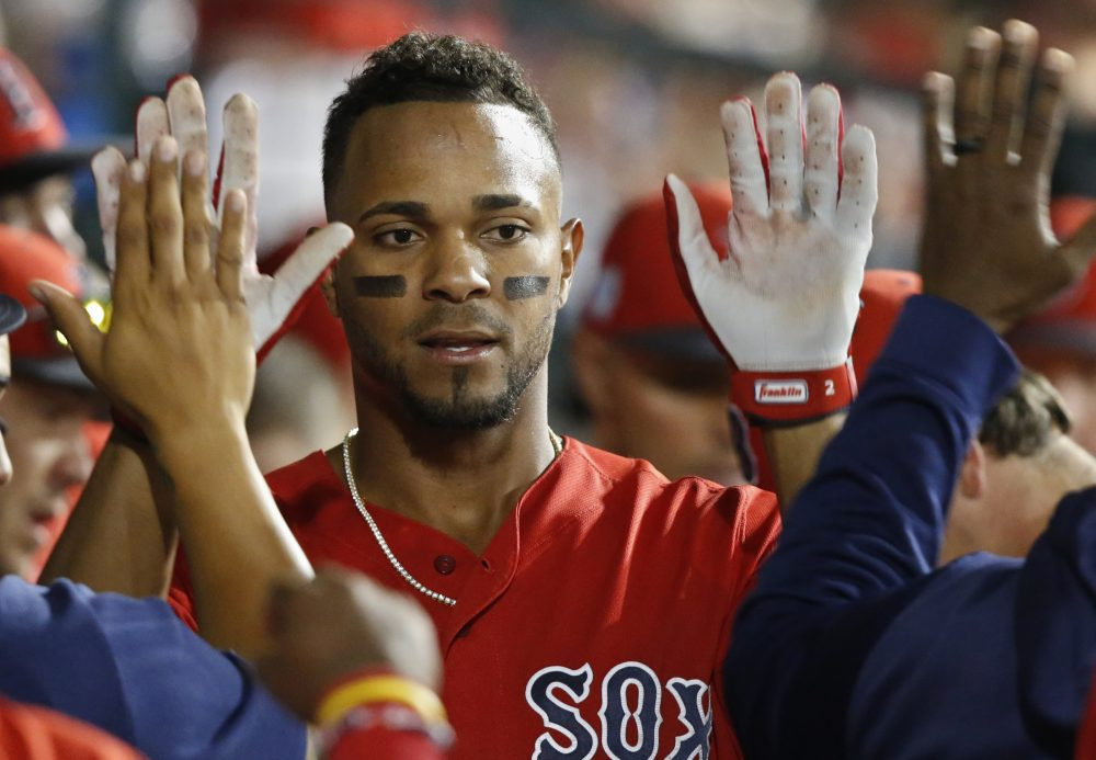 Xander Bogaerts agreeded to a six-year, $120 million contract extension with the Red Sox on Monday.