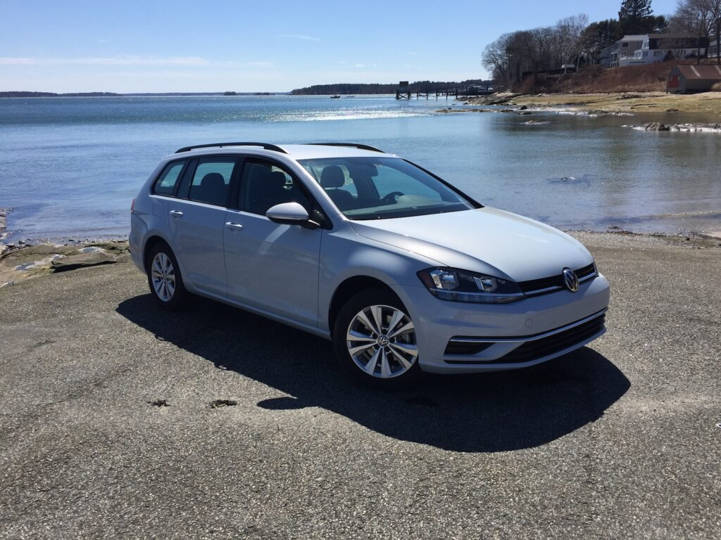 """The VW Golf is the absolute value leader in a small, but important, class."" Photo by Tim Plouff. Location: Falmouth Town Landing."