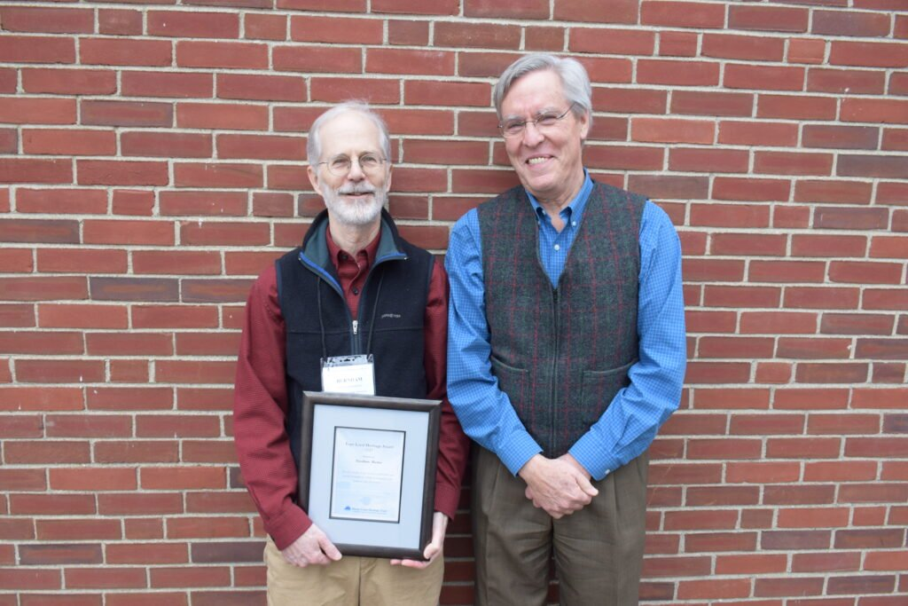 Martin recognized as a champion of trail creation in Maine