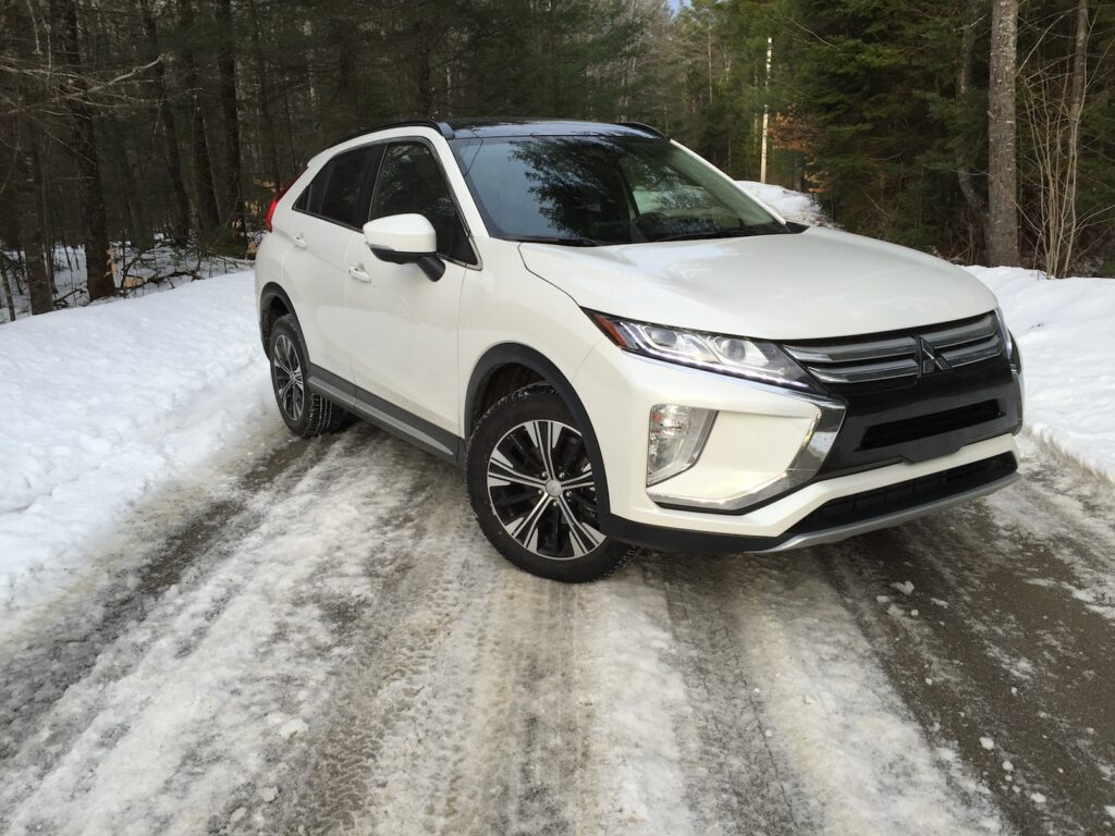 """The Eclipse Cross stands out visually from its rivals."" Photo by Tim Plouff."
