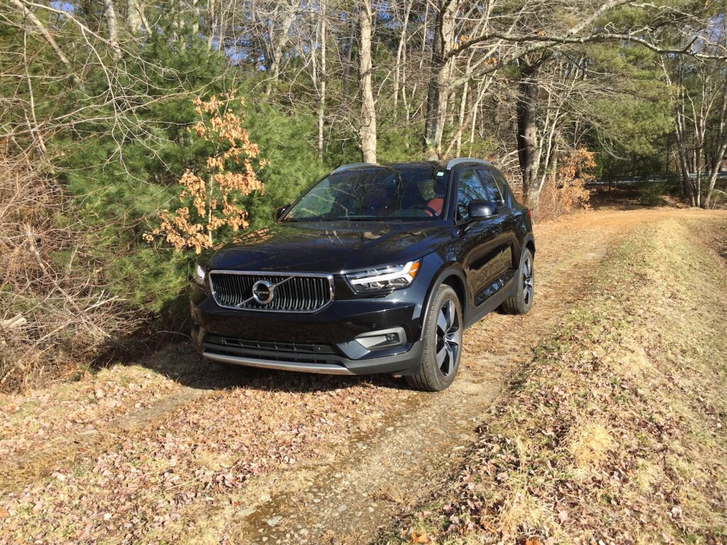 The five-door utility wagon is a great performer as a city vehicle, writes reviewer Tim Plouff. (But he snapped this photo in a cranberry bog in Middleboro, Mass.)