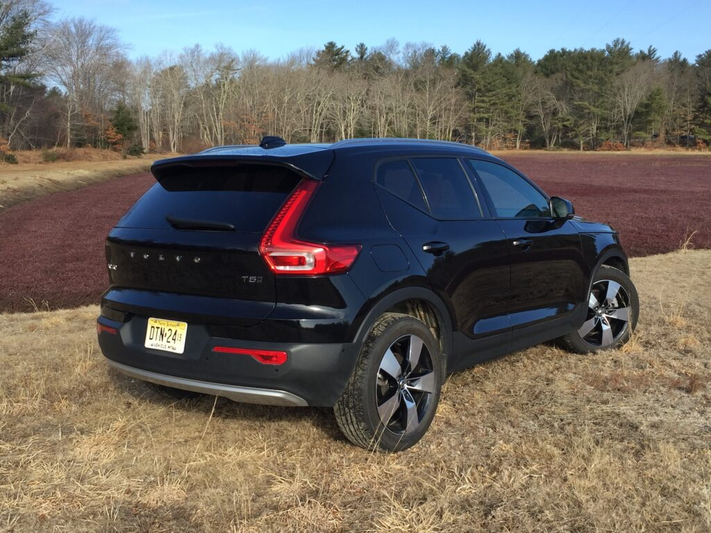 """The XC40 makes great first impressions with some of Volvo's best exterior lines."" Photo by Tim Plouff."