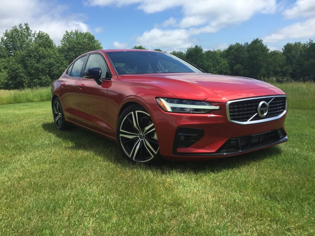 The Volvo S60 T6 R-design goes for $35,800 base, $55,490 as shown. Photo by Tim Plouff. Location: Otisfield.