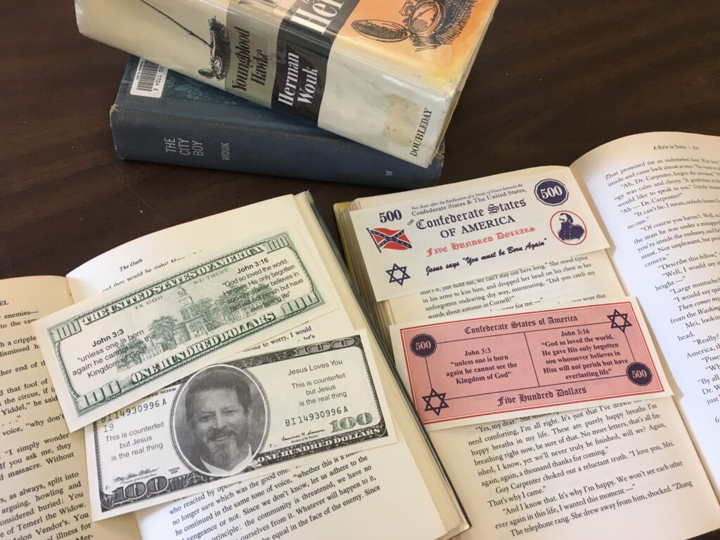 Bizarre counterfeit bills targeting readers of Jewish authors alarm Brunswick library | The Times Record