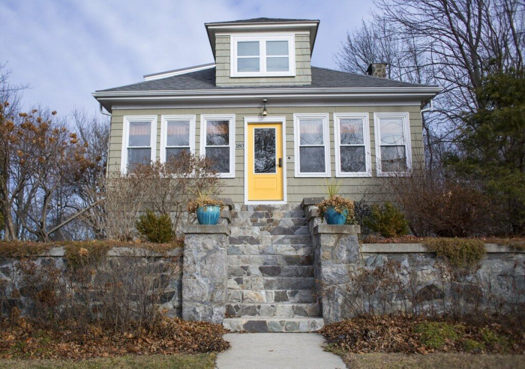 This home at 180 Preble St. in South Portland was a short-term rental in 2018. Under the new rules, all short-term rentals must be inspected, insured and licensed by the city.