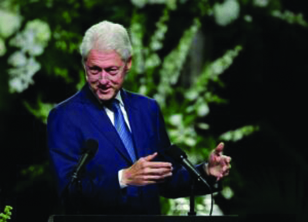 Bill Clinton, Jeb Bush to speak at UNE this month | Journal