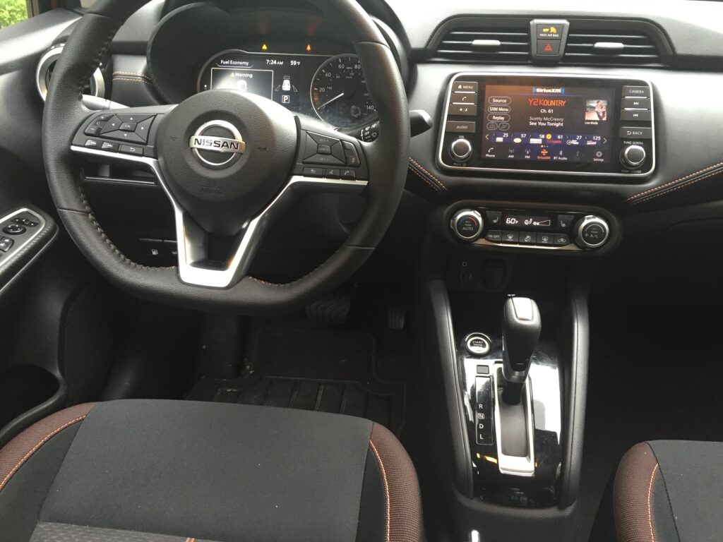 The sample reviewed here costs $18,240, which includes push-button and remote start, keyless access, one-touch driver's window, a height adjustable driver's seat, auto-climate controls, LED lights, heated mirrors with signal lamps, plus several electronic driving aids