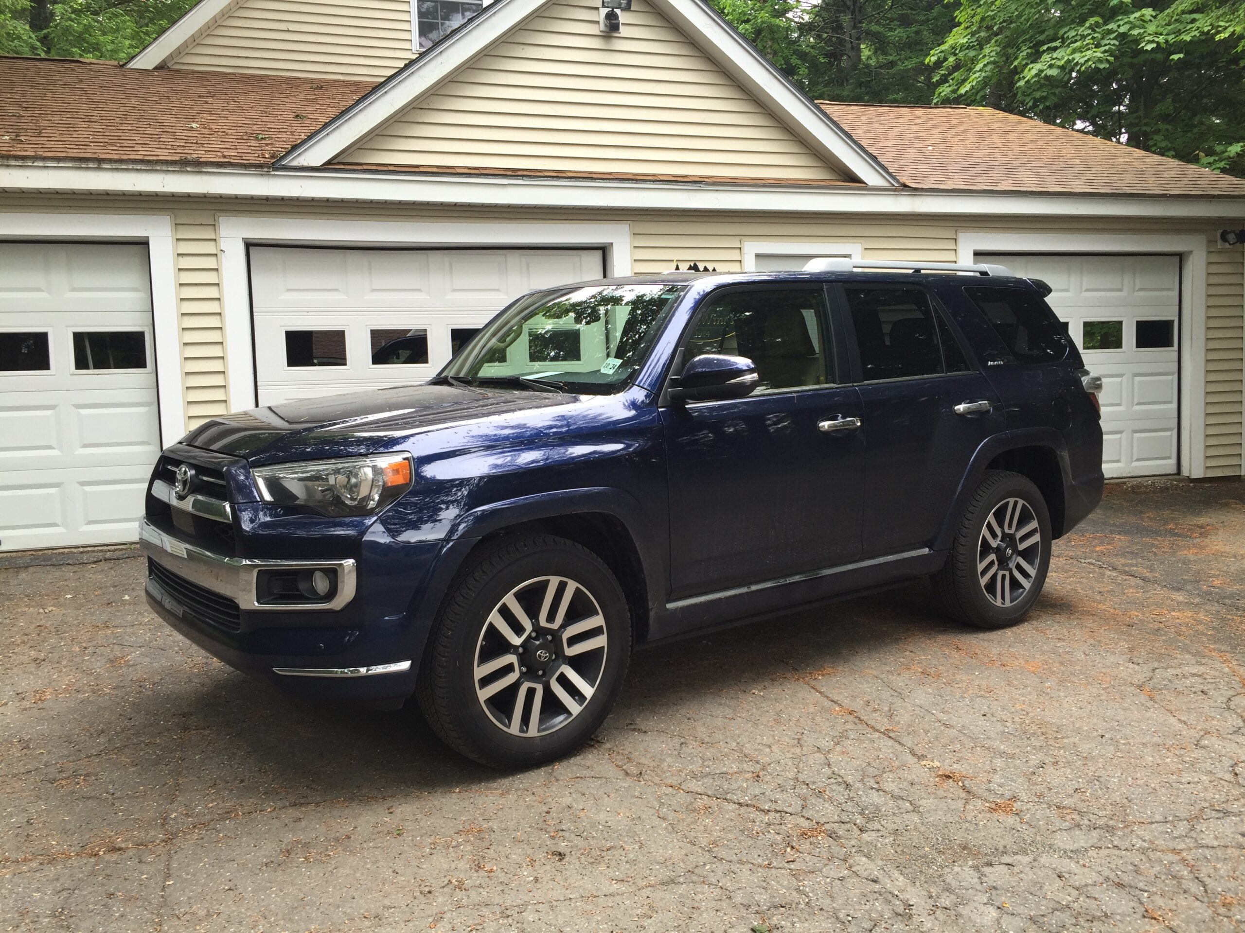 On The Road Review Toyota 4runner Limited Portland Press Herald