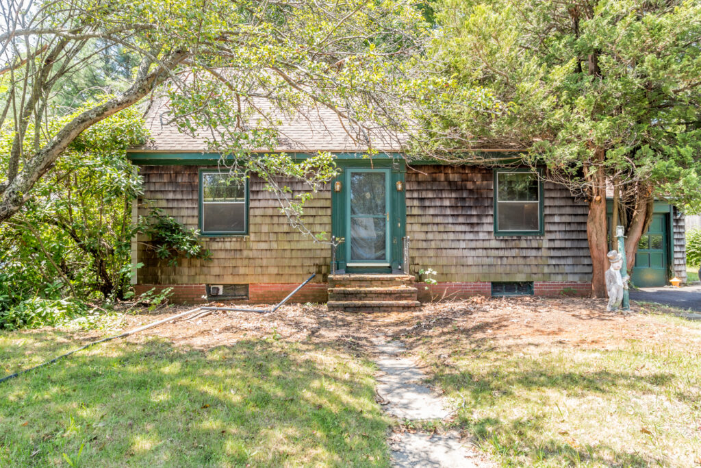 This three-bedroom, one-bathroom home is being sold as is, with updates and maintenance to complete before it is move-in ready.