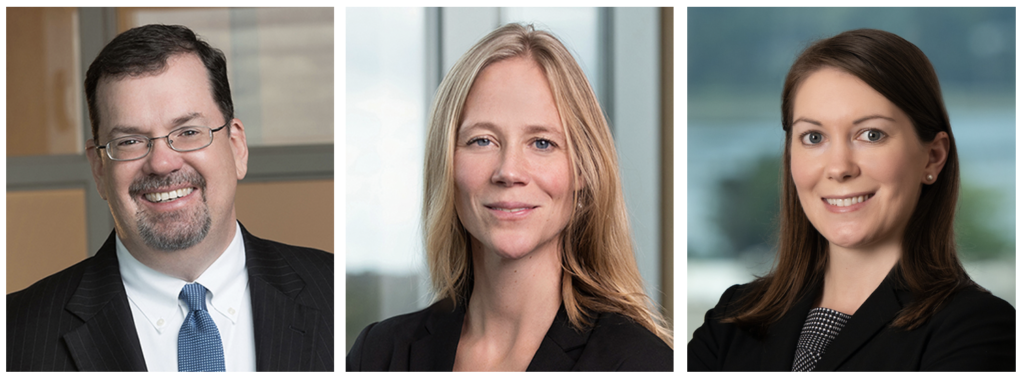Ted Kellerher, Hannah King and Malina Dumas are attorneys with Drummond Woodsum.