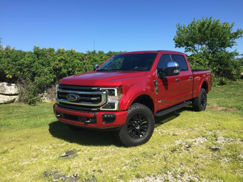 Super Duty pricing starts at $34,035 for an XL regular cab trucks, sliding up the scale to $90,860 for an F-450 Crew Cab Dually Limited.