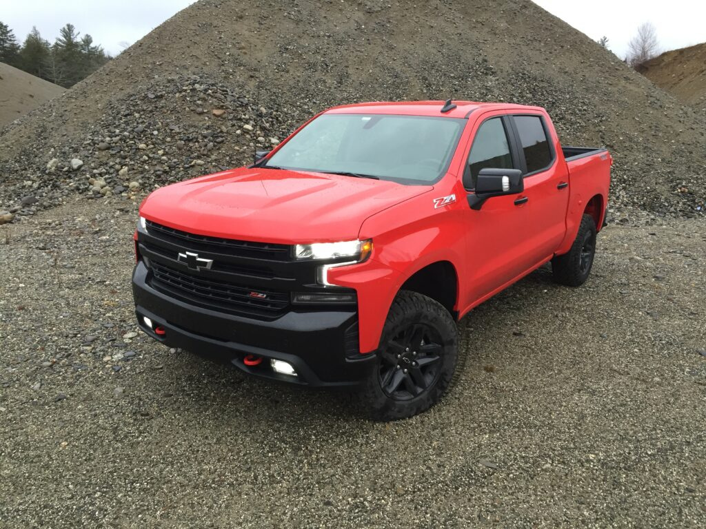 With Silverado pricing starting at just over $28,000, the Trail Boss LT begins at $48,500. Sample truck shown goes for $55,245 with several option packages.