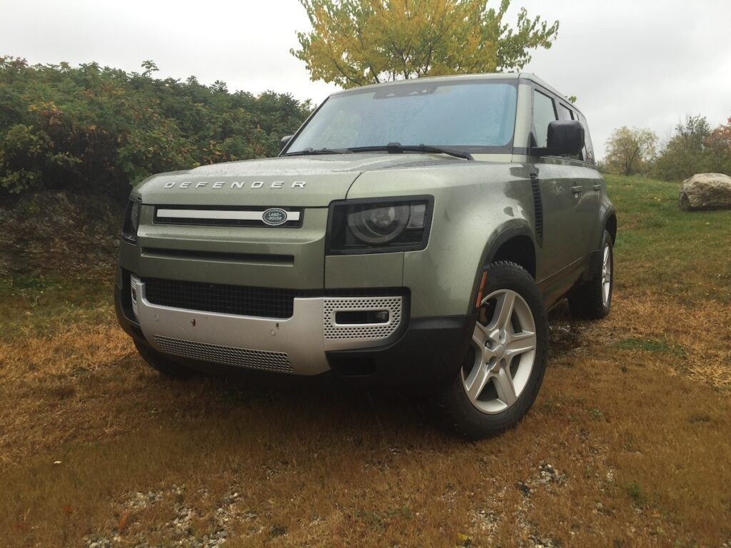 """""""This new Defender pays homage to the original, but it's a quantum leap forward. You might say the Brit's have a lovely little hit on their hands."""""""