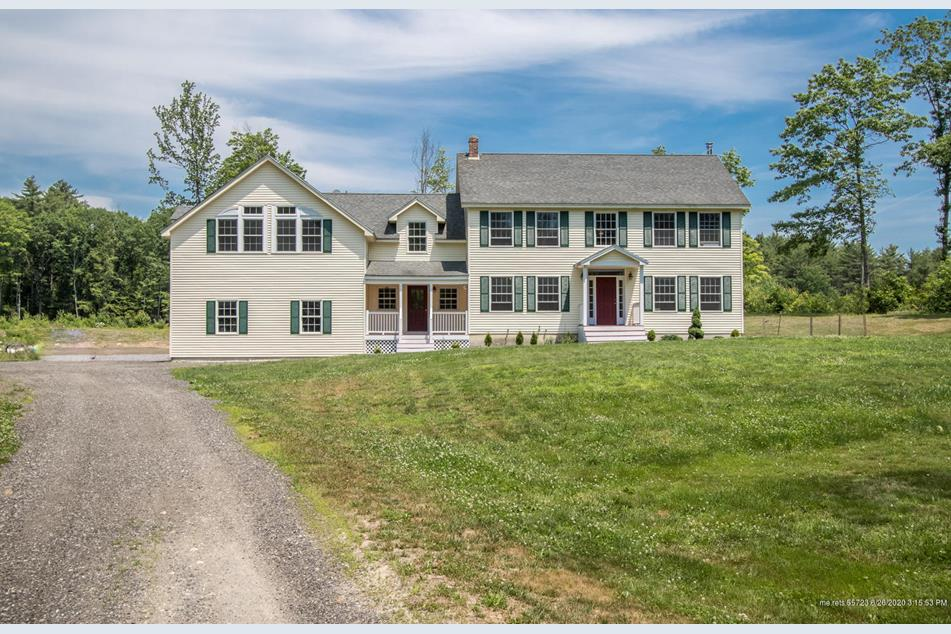A Gorham property we listed in 2020 has 3,700 SF of living space, a three-bay garage and 12 acres of land.