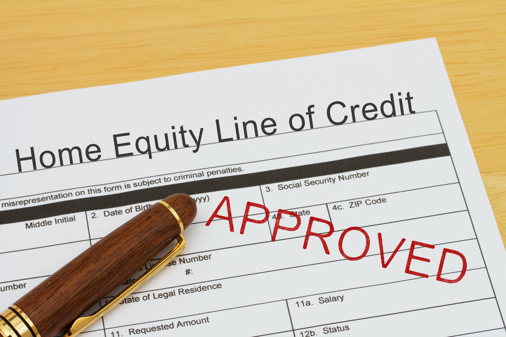 A home equity line of credit approves the borrower for an overall credit limit that they can withdraw from as they need it, instead of receiving a lump sum. A HELOC can be more advantageous when used to make home improvements because in some cases the interest paid could be tax-deductible.