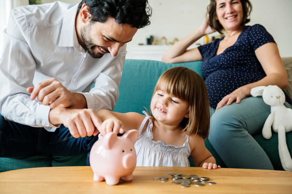 Make timelines of your goals to help you prioritize savings designations. If you have children, you are probably thinking of college savings funds, but you may want to keep you payments small if you are saving for a home down payment too.