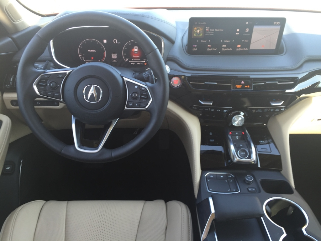 """""""Yes, Acura has brought Alexa along for the drive to help with audio selections, navigation directions, and other tasks, which is all good because the touch-pad is too distracting to use while driving."""""""