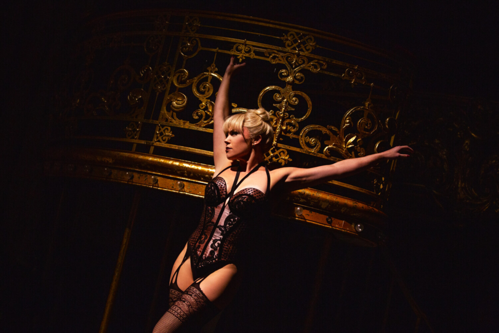 """Robyn Hurder is among the Maine-bred stars back in action on Broadway. She stars in """"Moulin Rouge: The Musical."""""""